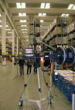 Jimmy jib per video aziendale Perugia